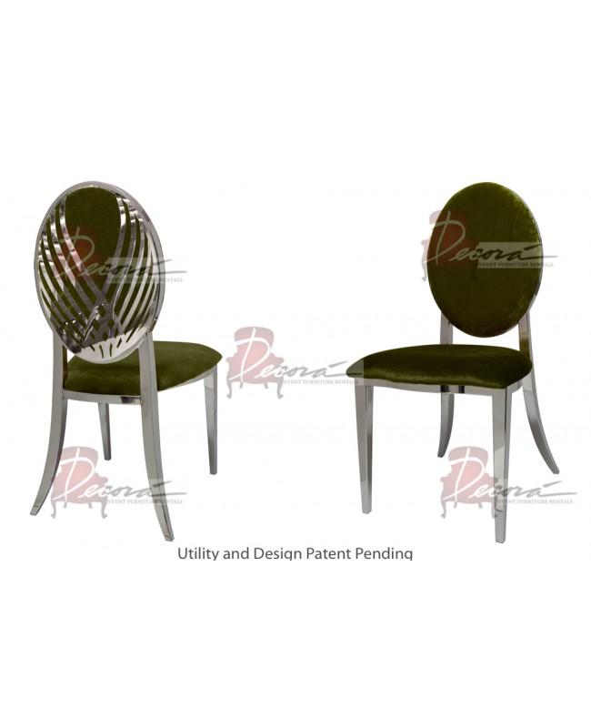 Swan Lake Chair (Silver-Moss)
