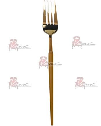 GOA Dinner Fork (Gold-Gold)