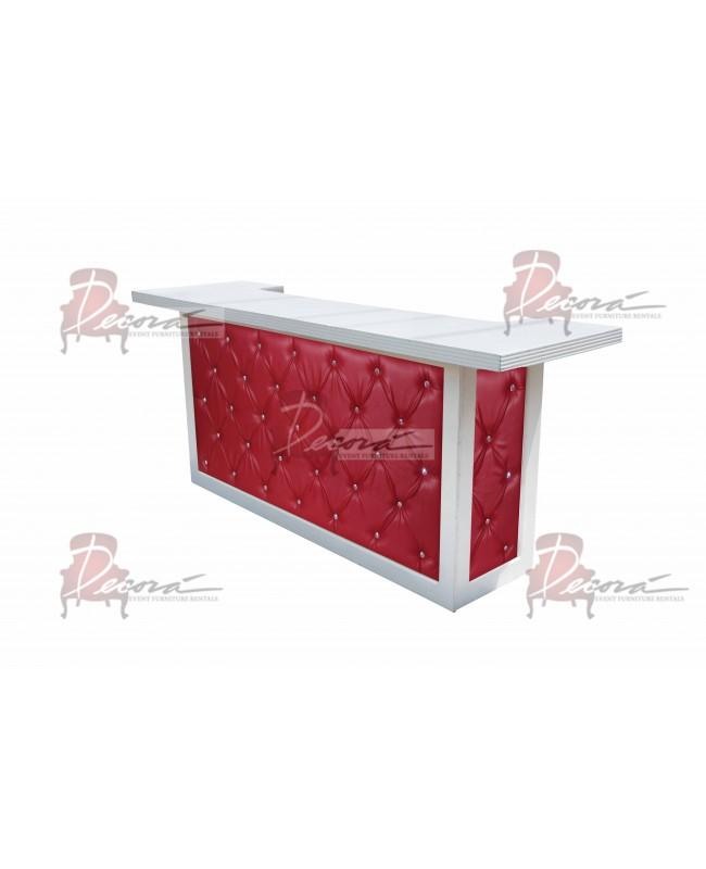 Soho Bar 8' (Red)