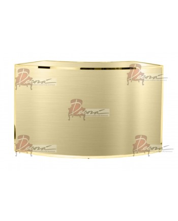 Reflection Curved Bar (Gold)