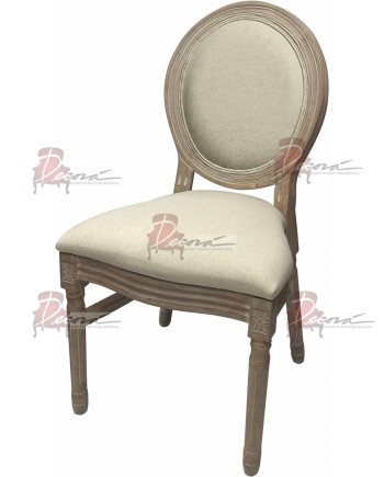 Louis Natural Back Chair