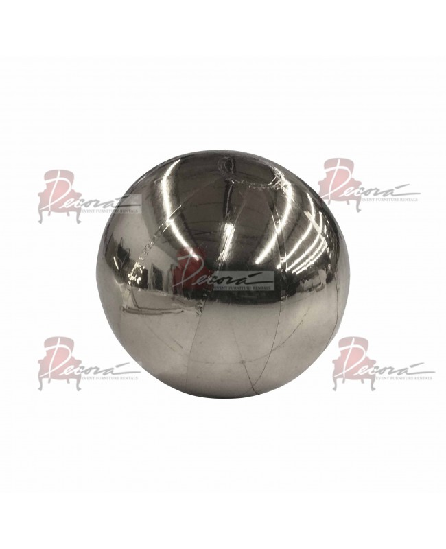 """Reflection Sphere (Silver) 39.3"""""""