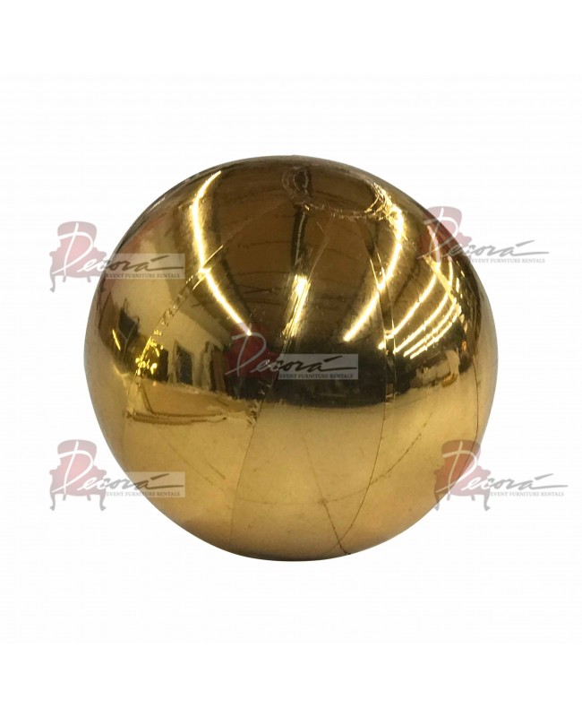 """Reflection Sphere (Gold) 47.2"""""""