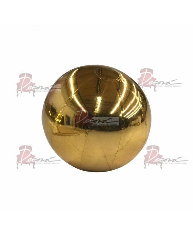 """Reflection Sphere (Gold) 39.3"""""""