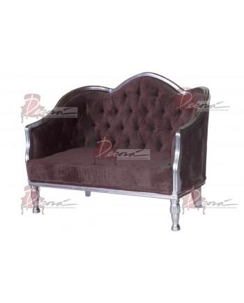 Venice Love Seat (Brown)