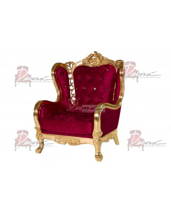 Monarch ArmChair (Red)