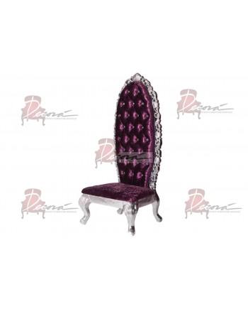 Monarch Princess Chair (Eggplant)