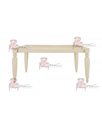 Vintage Dining Table (Sand) 6'