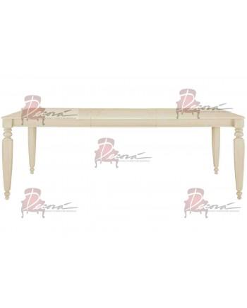 Vintage Dining Table (Sand) 8'