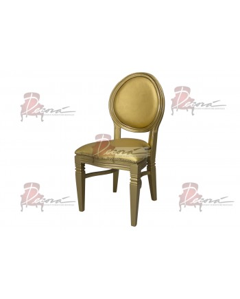 Chandelle Chair (Gold)