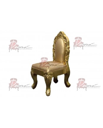 Empress Kid Chair (Gold)