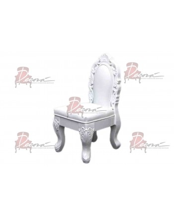 Empress Kid Chair (White)