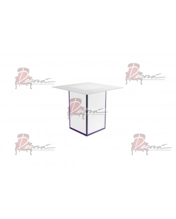 Skyline Highboy (Square) (Clear Top)