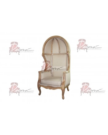 Vintage ArmChair Dome (Taupe)