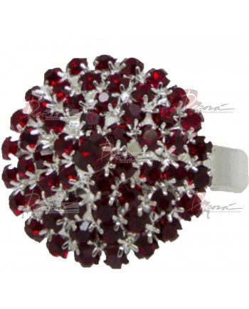 Red Stones Napkin Ring