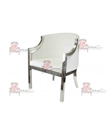 Reflection Accent ArmChair (Boss) (White)