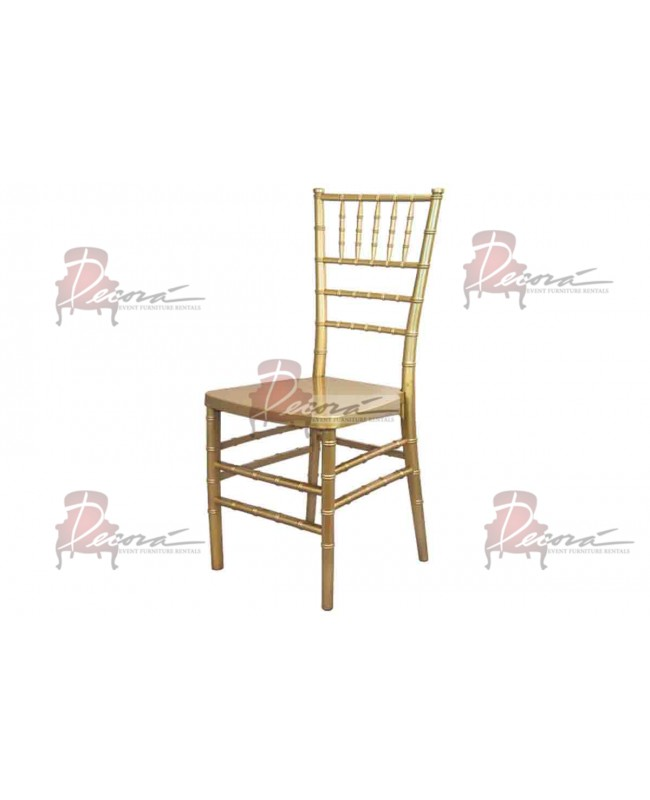 Chiavari Chair (Gold)