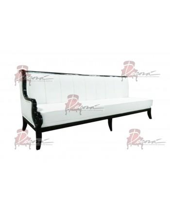 Empire Sofa (Black-White-lines) (Right Arm)
