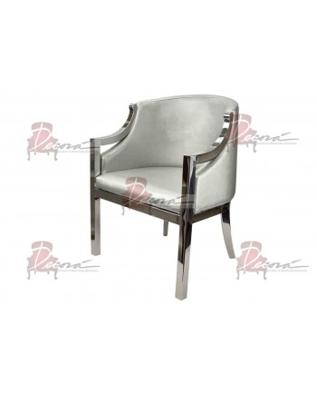 Reflection Accent ArmChair (Boss) (Silver)