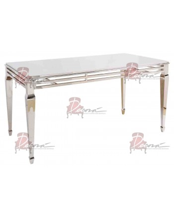 """Reflection HighBoy Table (Silver) 48"""" x 96"""""""