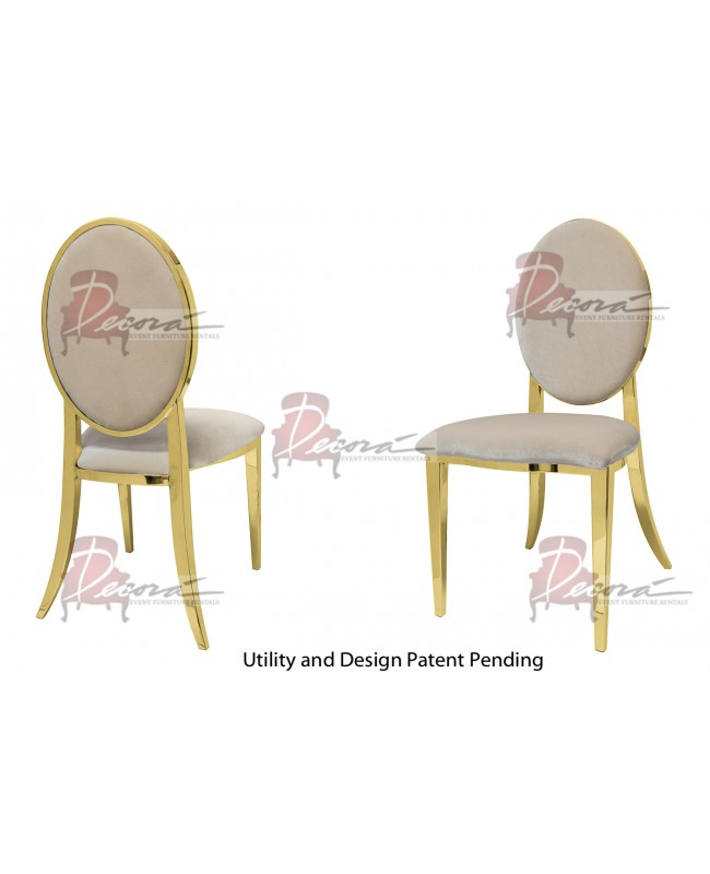 Tiffany Chair (Gold-Champagne)