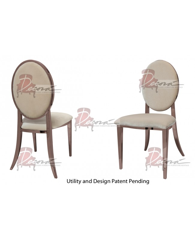 Tiffany Chair (Rose Gold-Champagne)