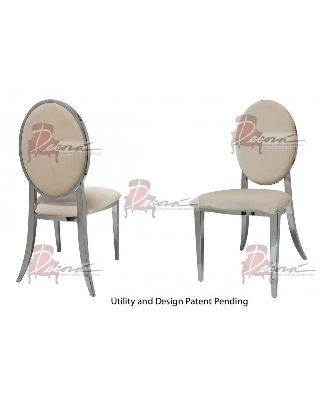 Tiffany Chair (Silver-Champagne)