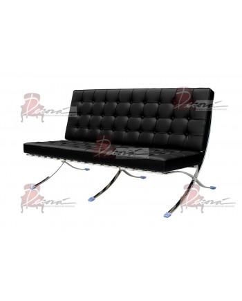 Modern Line Barcelona Sofa (Black)