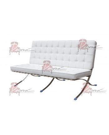 Modern Line Barcelona Sofa (White)