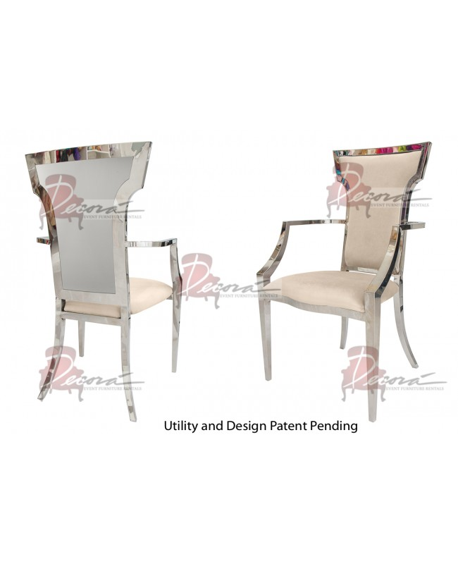 Reflection ArmChair Wings (Silver-Champagne)
