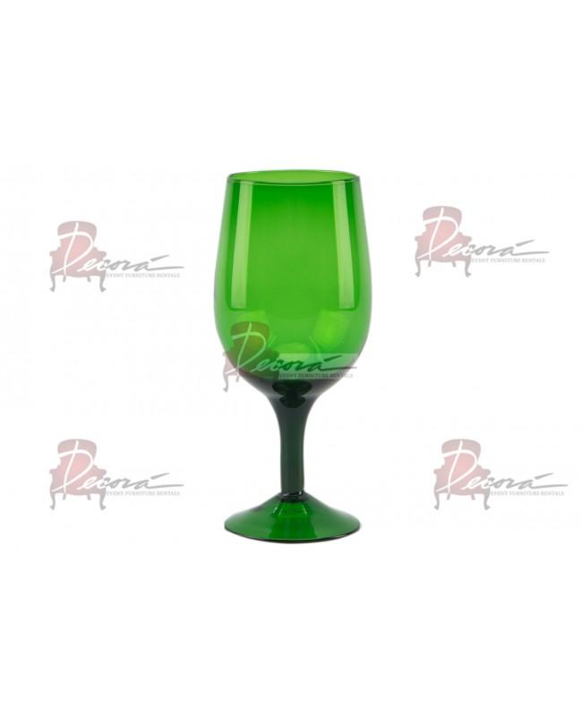 All Purpose Glass (Green) (Rack of 25)16 oz