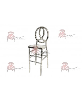 Infinity Barstool (Silver)
