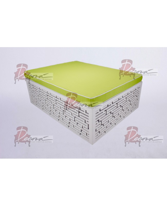 Maze Bed (Lime Green)