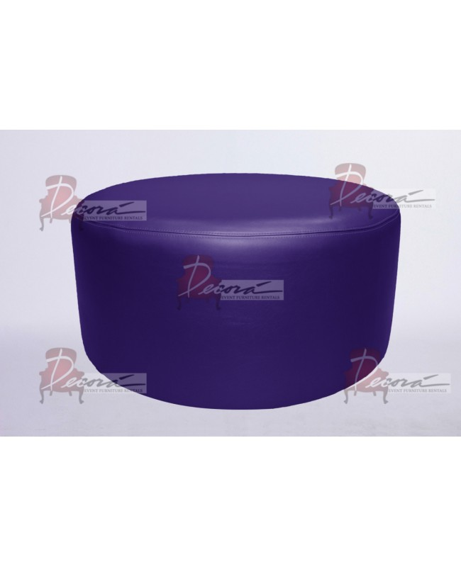 "Soho Coffee Table 30""  (Round)(Purple)"