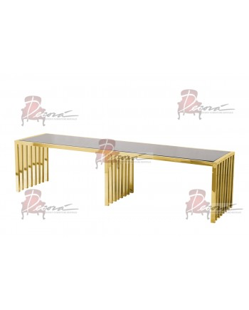 Reflection Coffee Table Art Deco (Gold)