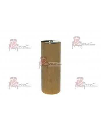 """Cylinder Pedestal (Gold) 39"""" H"""