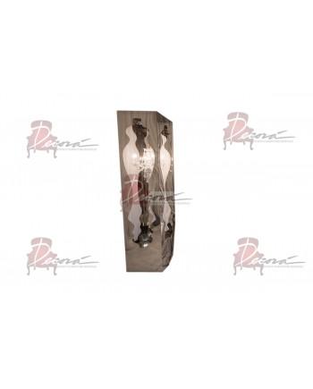 Reflection Neo Baroque Column 8' (Silver)