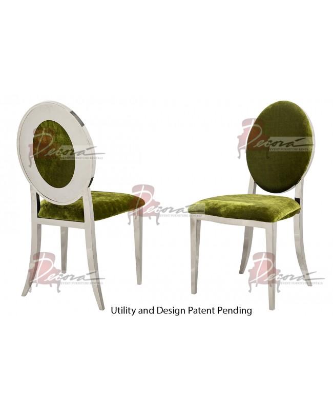 Oz Plus Chair (Silver-Moss)