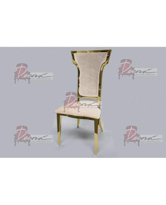 Titan Chair (Gold-Moss)