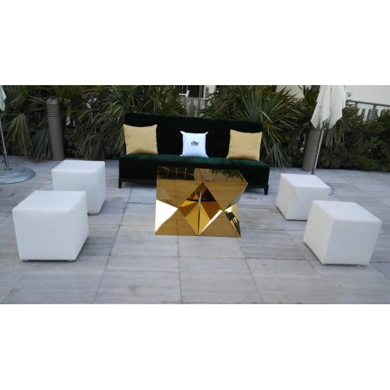 Velvet Sofa 7'