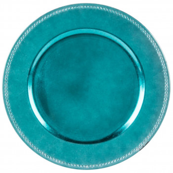Beaded Rim Charger Plate