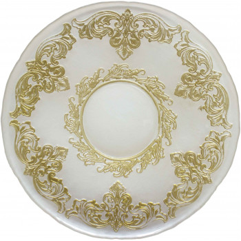 Crown Charger Plate