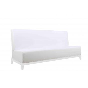 Contemporary Sofa 7' (White Legs)