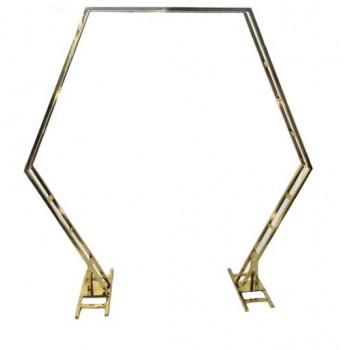 Backdrop Hexagonal Arch
