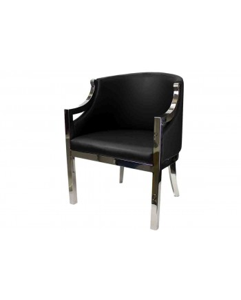 Reflection Accent ArmChair (Boss) (Black)
