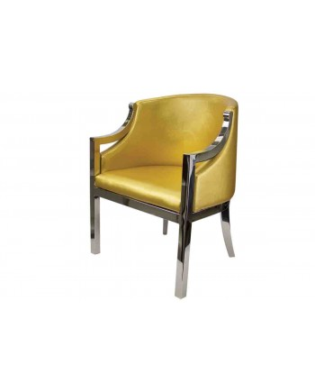 Reflection Accent ArmChair (Boss) (Gold)