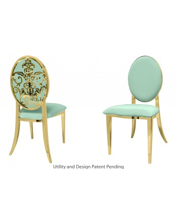 Dior Chair (Gold-Mint)
