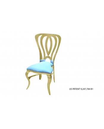 Halexander Chair Gold (Turquoise)