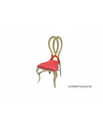 Halexandria Chair (Gold-Red)