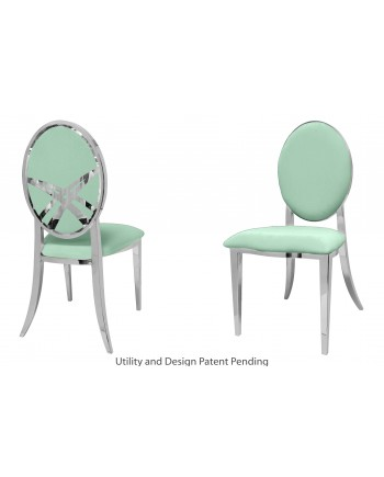 Lasso Chair (Silver-Mint)